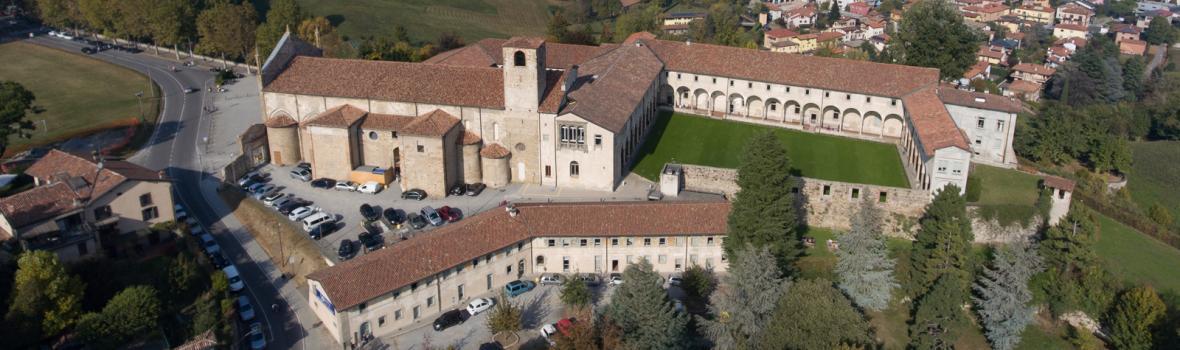 Veduta aerea della sede universitaria di S. Agostino. Ph. Laura Pietra